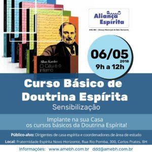 Curso Básico de Doutrina Espírita @ Fraternidade Espírita Novo Horizonte | Minas Gerais | Brasil